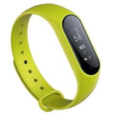 Y2 PLUS Gelang Tekanan Darah Darah Oksigen Monitor Smart Watch Heart Rate Monitor Smart Band IP67 Tahan Air Kebugaran Pelacak Gelang -Intl