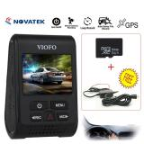 Toko Yacgroup Viofo A119 Capacitor 2K Hd Car Dash Camera Recorder Gps Logger Hard Wire Cpl Tf64Gb Card Termurah Tiongkok