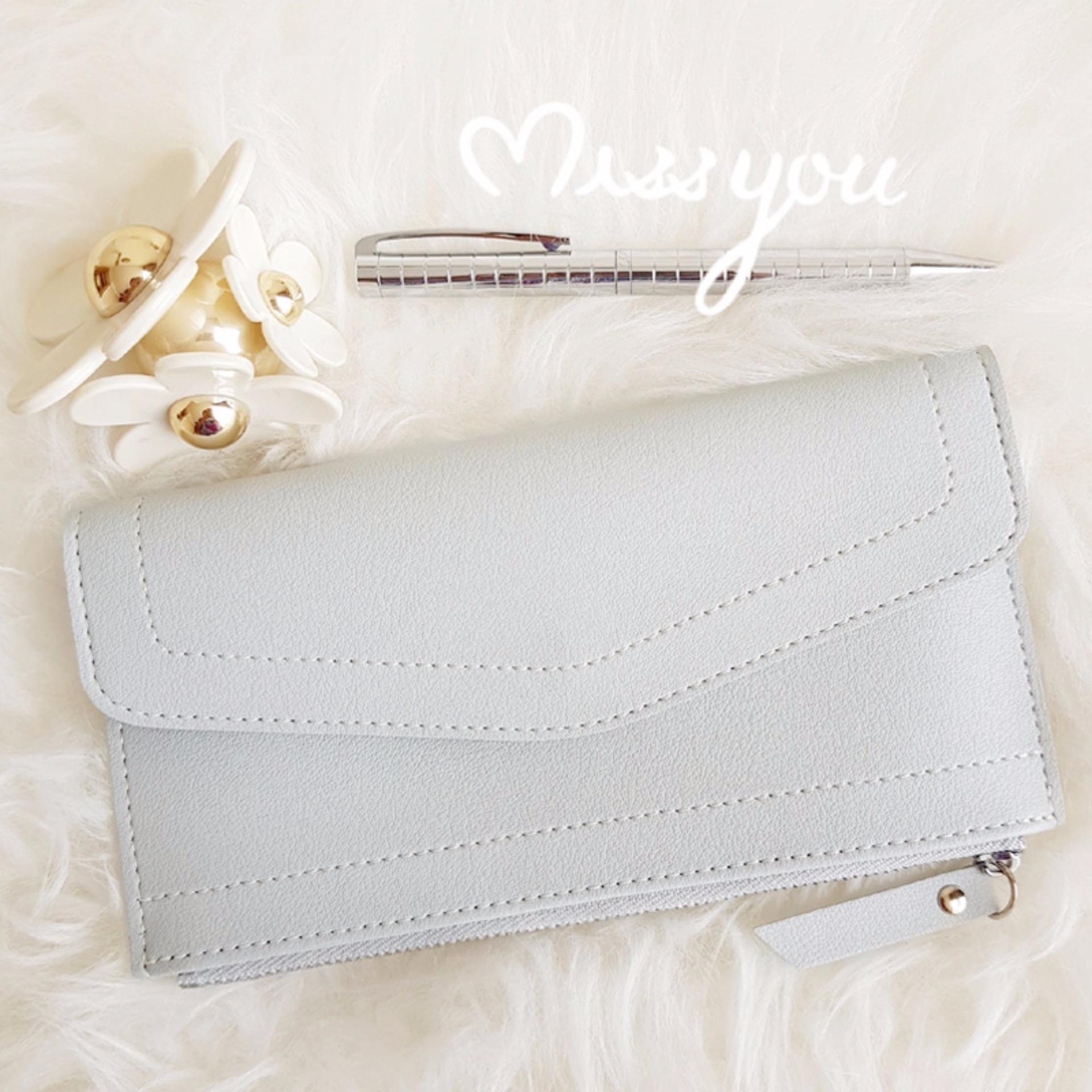 Yadas Korea Aleena Dompet HP Wanita - Soft Grey
