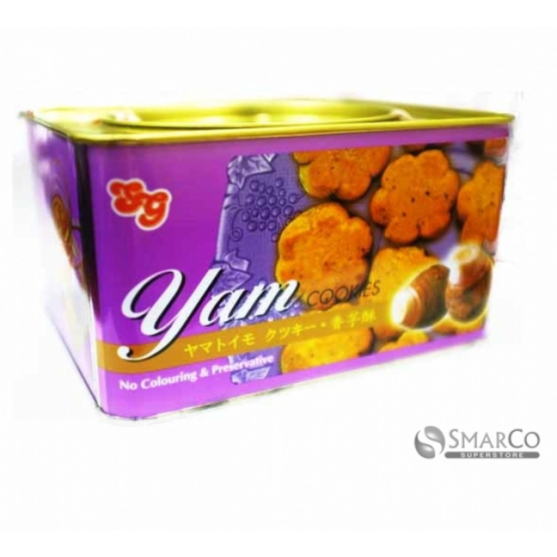 Jual Yam Cookies Keladi Tin 700 Gr Yam Cookies