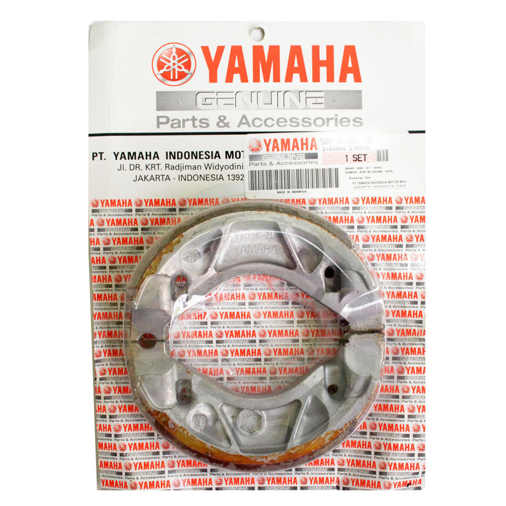 Beli Yamaha Genuine Parts Kampas Rem Tromol 5Mxf530K0000 Online Murah