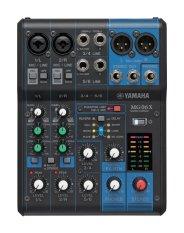 Yamaha MG06X Analog Mixer 6 Channel - Hitam