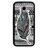Diskon Besary M Tribal Etnis Bulu Pola Cover Case Untuk Motorola Moto X Hitam