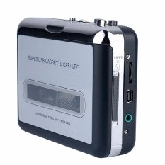 Jual Y H Ezcap218 256 Mb Usb Portable Kaset Tape For Mp3 Converter Audio Musik Player Hitam