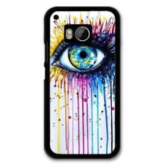 Y & M Art Style Eye PC Phone Case untuk HTC M9 (Multicolor)-Intl