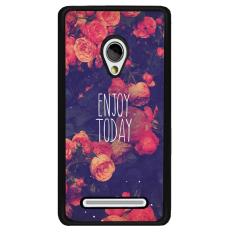 Y & M Cell Phone Case untuk Asus Zenfone 6 Nikmati Hari Ini Bunga Pola (Multicolor)-Intl