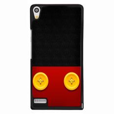 Y & M Cell Phone Case untuk Huawei Ascend P6 Pakaian Lucu Pola (Multicolor)-Intl