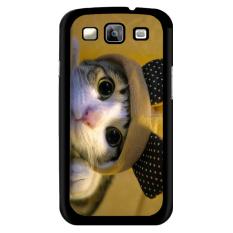 Y & M Cell Phone Case untuk Samsung Galaxy J1 Cute KITTY Pola (Multicolor)-Intl
