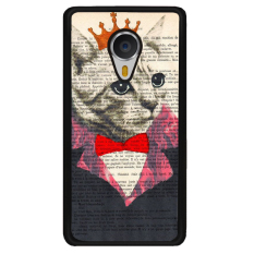 Y&M Creative King Cat Meizu MX4 Pro Phone Cover (Multicolor) - intl