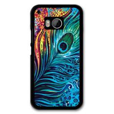 Y & M Elegan Bulu PC Phone Case untuk HTC M9 (Multicolor)-Intl