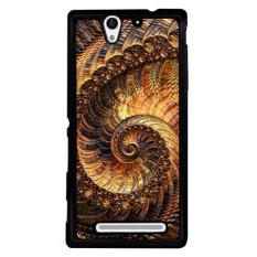 Y & M Fahion Unik Deginer Elegan Phone Case untuk SONY Xperia C3 (Multicolor)-Intl