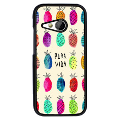 Y & M Fashion Colorful Nanas Karton Pola Phone Case untuk HTC Desire 816 (Multicolor)-Intl