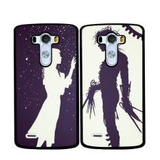 Y & M Fashion Wanita dan Pria Karton Pasangan Case untuk LG G4 Stylus (Multicolor)-Intl