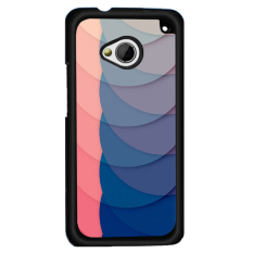 Y & M Hard Plastik Phone Case untuk HTC ONE X (Multicolor)
