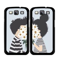 Y & M Hot Sale Girl dan Boy Karton Pasangan Case untuk Samsung Galaxy Note 5 Edge (Multicolor) -Intl