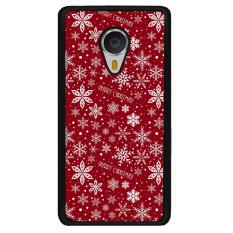 Y & M Meizu MX4 Pro Merry Natal Bunga Salju Dicetak Phone Case (Multicolor)-Intl