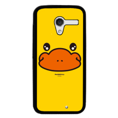 Y & M Motorola MOTO G2 Cell Phone Case Kuning Kecil Yang Lucu Bebek Pola (Multicolor)-Intl