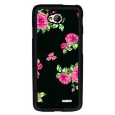 Y & M PC Elegan Bunga Phone Case untuk LG L90 (Multicolor)