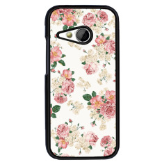 Y&M Plastic Fashion Popular Elegant Flowers Carton Pattern Phone Case for HTC Desire 816(Multicolor) - intl