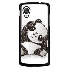 Y & M Populer Panda Karton Phone Case untuk LG NEXUS 5 (Multicolor)-Intl