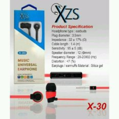 Yarden Universal X-30 Stereo Super Bass Headsfree Excellent Sound Quality With Mic - warna random
