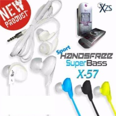 Yarden Universal X-57 Stereo Super Bass Headsfree Sport Model With Mic - warna random