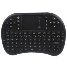 2 Ybc 4G Dilengkapi Dengan Keyboard Nirkabel And Mouse Terbang Bawah Touchpad For Smart Tv Box Pc Htpc Hitam Original