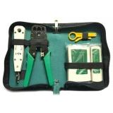 Harga Ybc 5 Pcs Set Ethernet Kabel Tester Rj45 Kit Crimper Crimping Tools Wire Detektor Internasional Original