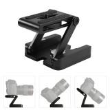 Miliki Segera Ybc Kamera Pan Tilt Head Aluminium Paduan Z Tipe Lipat Quick Release Plate Stand Holder Tripod