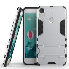 YBC Dual Layer Shockproof Telepon Cover Defender Case dengan Stand untuk HTC Desire 10 Pro/825-Internasional