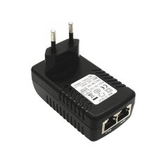 Jual Beli Ybc Uni Eropa Plug Keamanan Poe Power Supply Adapter 24 V 1 Adaptor Ethernet Injector For Ip Camera Di Tiongkok