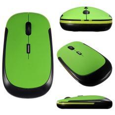 Penawaran Istimewa Ybc Mini Wireless Optical Usb Receiver 2 4Ghz Mouse For Laptop Computer Intl Terbaru