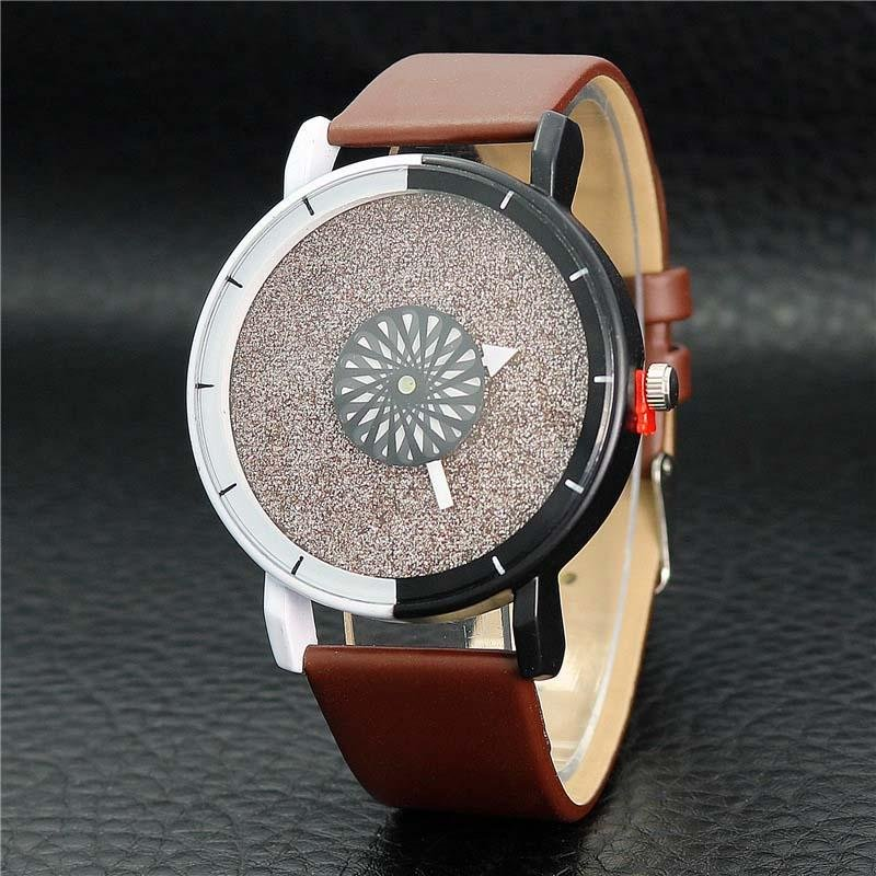 Toko Ybc Women Fashion Quartz Sederhana Casual Watches Analog Pu Kulit Tali Jam Tangan Intl Oem