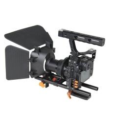 Promo Yelangu Ylg1105A A7 Cage Set Termasuk Video Camera Cage Stabilizer Follow Focus Matte Box Untuk Sony A7S A7 A7R A7Rii A7Sii Panasonic Lumix Gh4 Orange Intl Murah