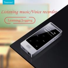 Toko Yescool X3 Mp3 Player 8Gb Logam Ape Flac Wav Suara Kualitas Tinggi Dengan Perekam Suara Termurah