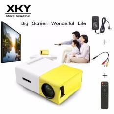 YG300 HD Mini Smart Proyektor LED Portable Proyektor DLP Home Theater 1080 P Cinema Media Player