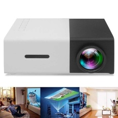 YG300 LED Proyektor Mini Tinggi Resolusi Ultra Portable 1080 P 400-600Lumens-Intl