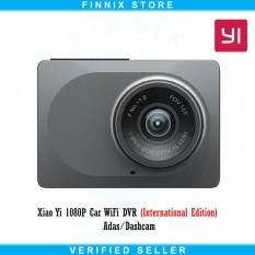 Yi Smart Dash Camera 1080P Car WiFi DVR (International Edition) - Grey