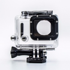 Dapatkan Segera Yicoe Kotak Rumah Olahraga Menyelam 45 M Anti Kabut Casing Kedap Air Kekuatan Tinggi Hot With Pemasangan Kaca For Mm X 80Mm Untuk Kamera Aksi Go Pro 3 3 4