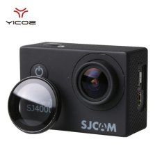 YICOE UV Filter Penutup Lensa untuk SJCAM Wifi SJ4000 SJ4000plus EKEN H9R H9 Pelindung Lensa Kaca Optik Cover Filter Action Sport Camera Accessories-Intl