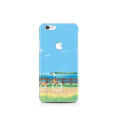 [YITSCASE] IPhone 6/6 S SMARTPHONE HARD CASE JATUH SERISE DESAIN CASE POLIKARBONAT KOREA ORIGINAL (AUTIMN SEPEDA) -Intl