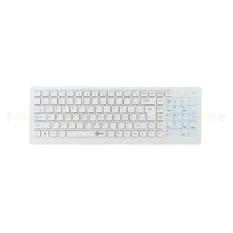 Yjjzb Nirkabel 2.4G Sentuh Keyboard Super Diam Hemat Daya Tinggi Panel Sentuh Sensitif E Keyboard Teknik Nyaman Cocok Keyboard with Kompatibilitas Lebar Waiting For You! (Putih)-Internasional