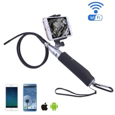 Yjjzb Nirkabel Endoskopi-iPhone Android WIFI Borescope Video Inspection Kamera. 2 Juta Piksel HD Ular Kamera Anti-Air USB HD 720 P 6 LED Endoskopi Industri untuk Android/Jendela/IOS (1 M) -Internasional