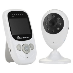 Yjjzb Womdee® Nirkabel 2.4 GHz Bayi Monitor Kamera 2.4 Inci Warna LCD Malam Vision Keamanan Audio Video-Internasional