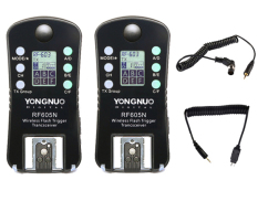 Beli Yongnuo Flash Trigger Rf 605 N Wireless Transceiver Kit For Nikon Murah Jawa Barat