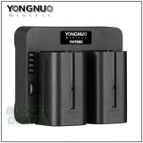 Harga Yongnuo Speed Charger Yn750C Dual Battery Charger Sony Np F970 770 570 Yongnuo Online