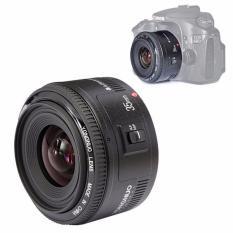 YONGNUO YN 35mm F/2 Besar Lubang Lensa Sudut Lebar Lensa Fokus Otomatis For Canon EOS DSLR Kamera
