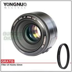 Harga Yongnuo Yn 50Mm F1 8 Lens Lensa For Canon Ef Lengkap