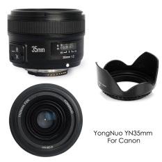 Yongnuo YN35MM F2 Sudut Lebar Besar Bukaan Otomatis Fokus Lensa For Canon EOS Kamera