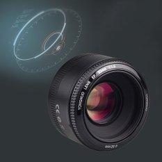 YONGNUO YN50MM F/1.8 Aperture Besar Auto Fokus Lensa + Hadiah Gratis untuk Kamera Canon